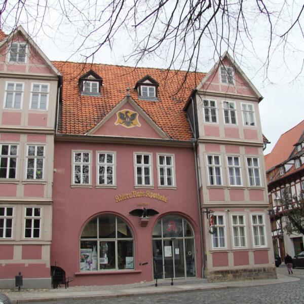 Adler- und Ratsapotheke - Quedlinburg - Duitsland