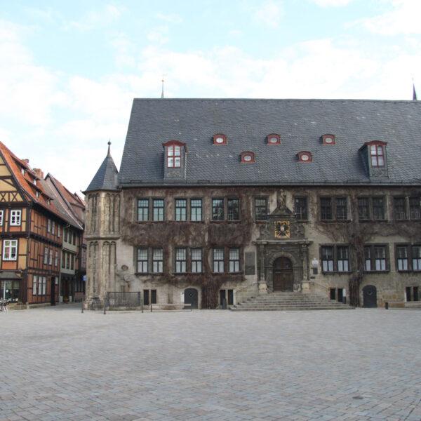 Rathaus - Quedlinburg - Duitsland