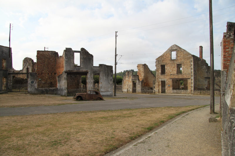 Week in Frankrijk - Oradour-sur-Glane