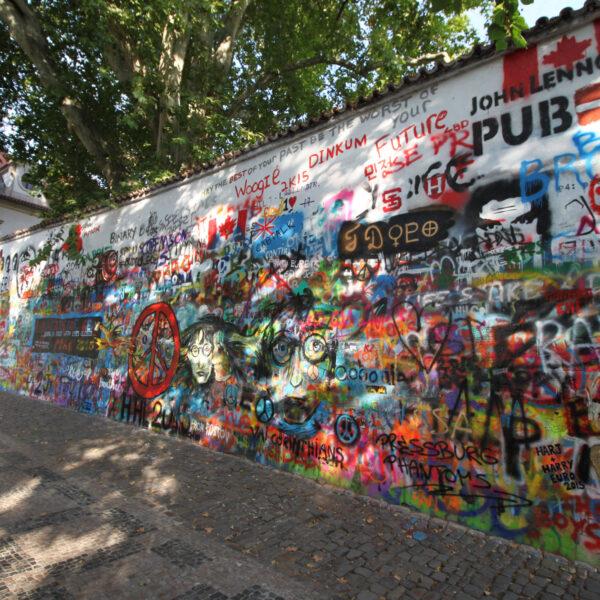 Bierpersreis Tsjechië - Praag - John Lennon Wall