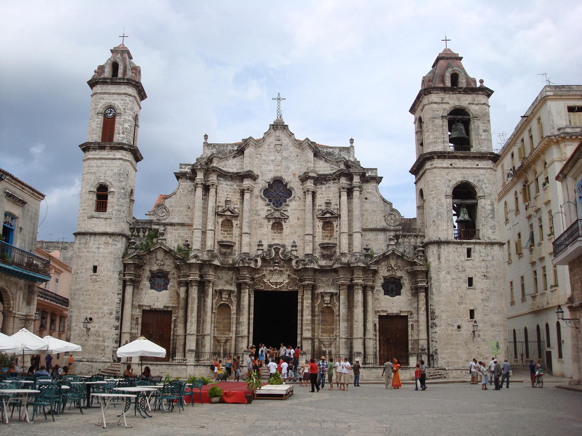 Must sees Cuba - Havana - Catedral de San Cristobal