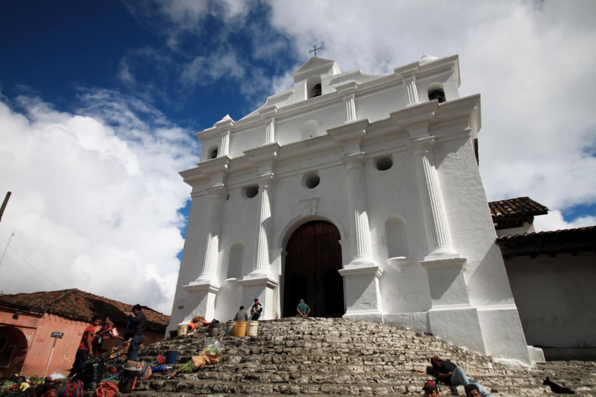 Guatemala 2015 - dag 16 - Iglesia de Santo Tomás in Chichicastenango