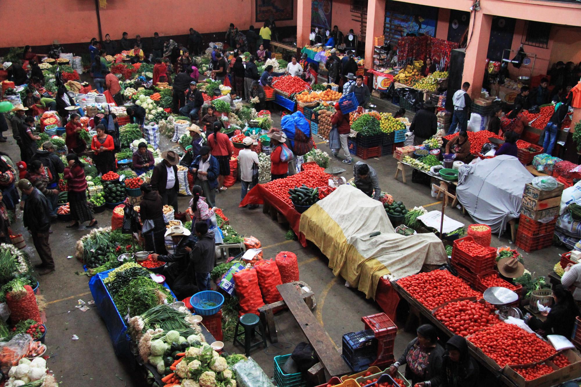 Guatemala 2015 - dag 17 - De grote markt van Chichicastenango