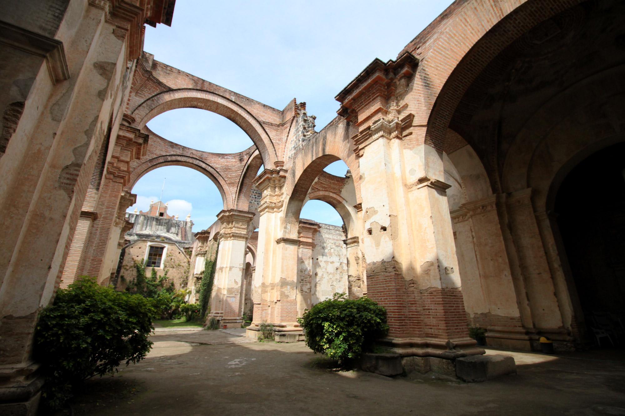 Guatemala 2015 - dag 2 - Ruïnes van Cathedral de Santiago