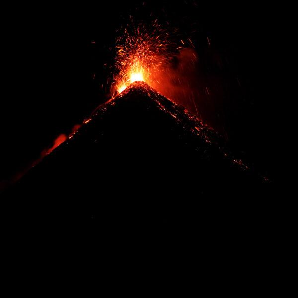 Guatemala 2015 - dag 4 - De vuurspuwende Volcán de Fuego