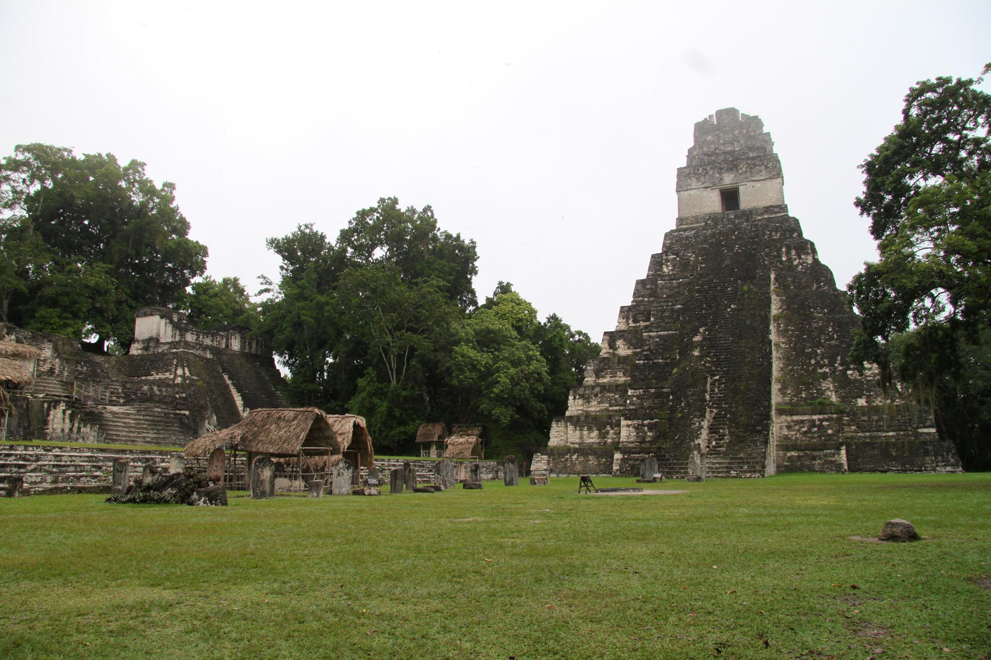 Guatemala 2015 - dag 7 - Templo I in Tikal