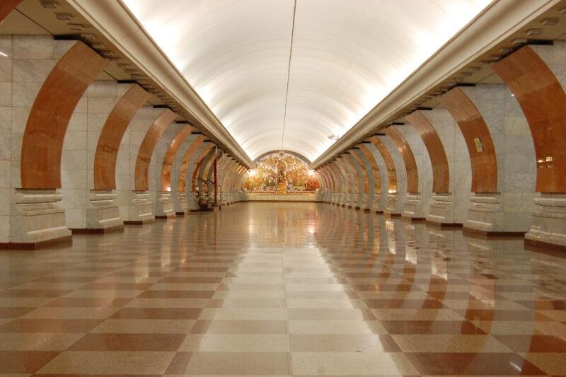 Op mijn wishlist: De metrostations van Moskou