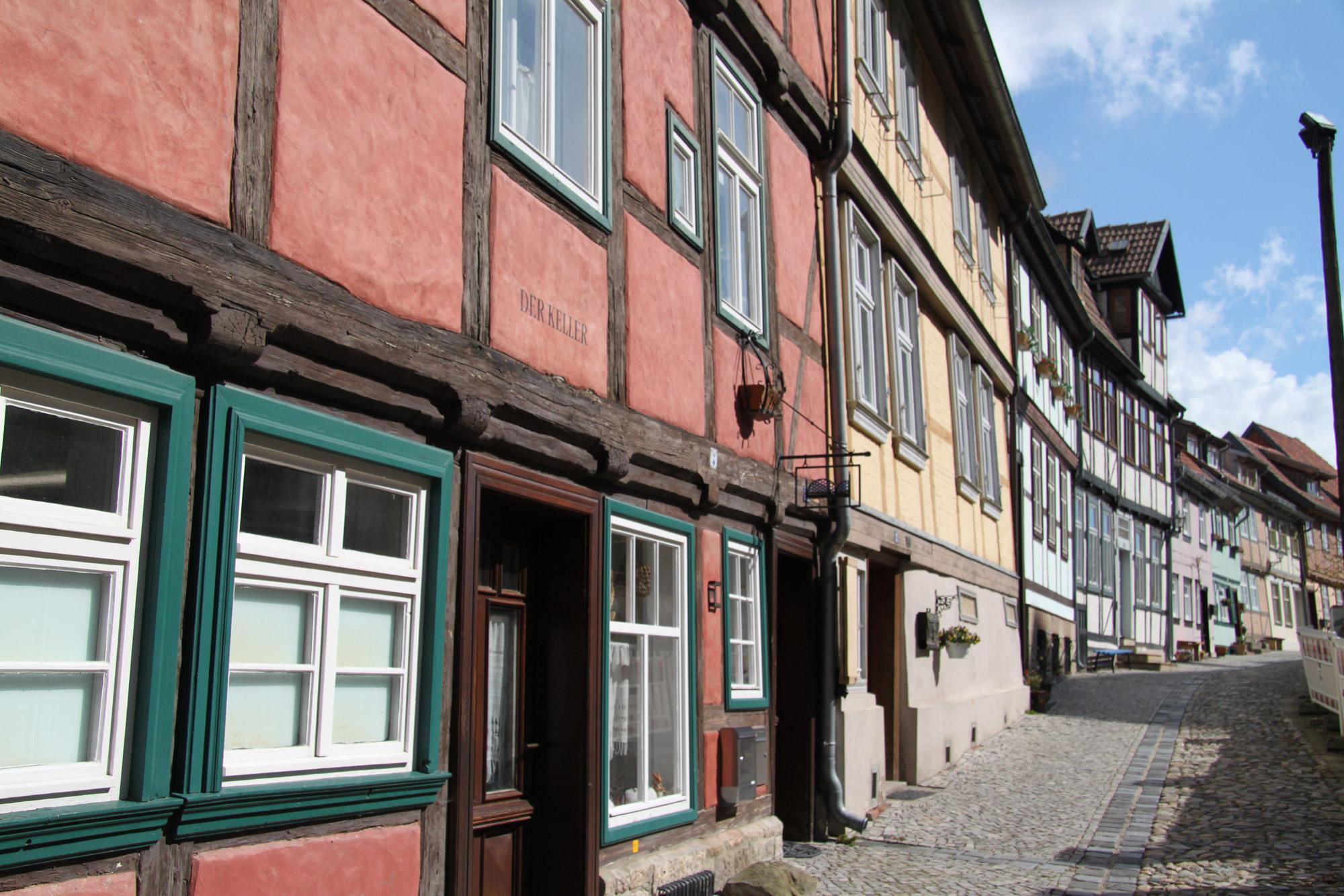 Mijn reizen in 2015: Quedlinburg en Wernigerode