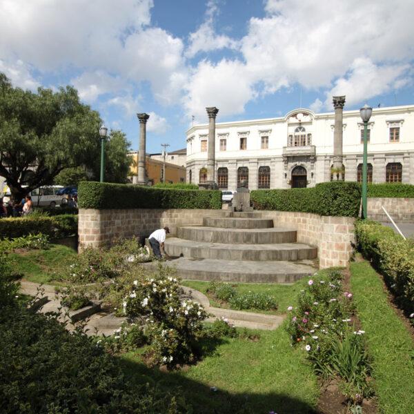 Parque a Centro América - Quetzaltenango - Guatemala