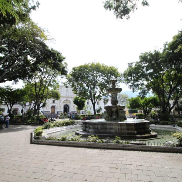 Parque Central - Antigua - Guatemala
