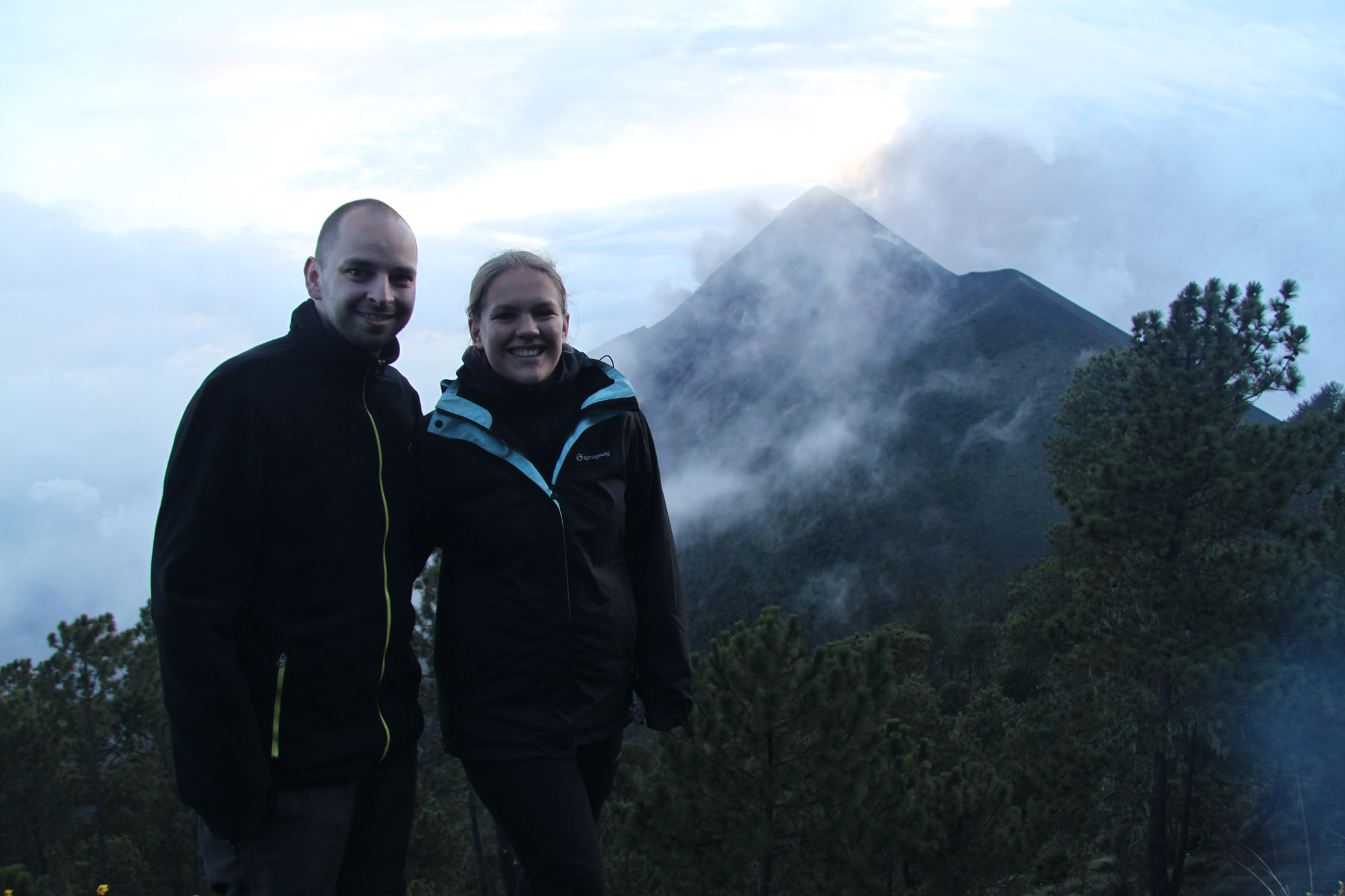 Top 5 vulkanen die je moet beklimmen in Guatemala - Volcán de Fuego