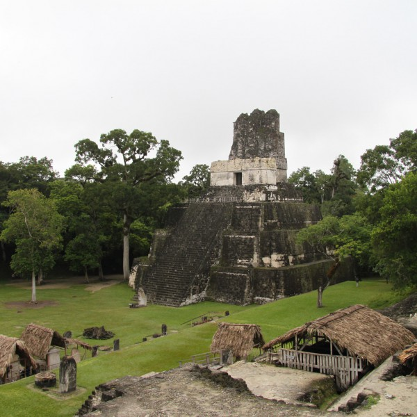 Templo II - Tikal - Guatemala