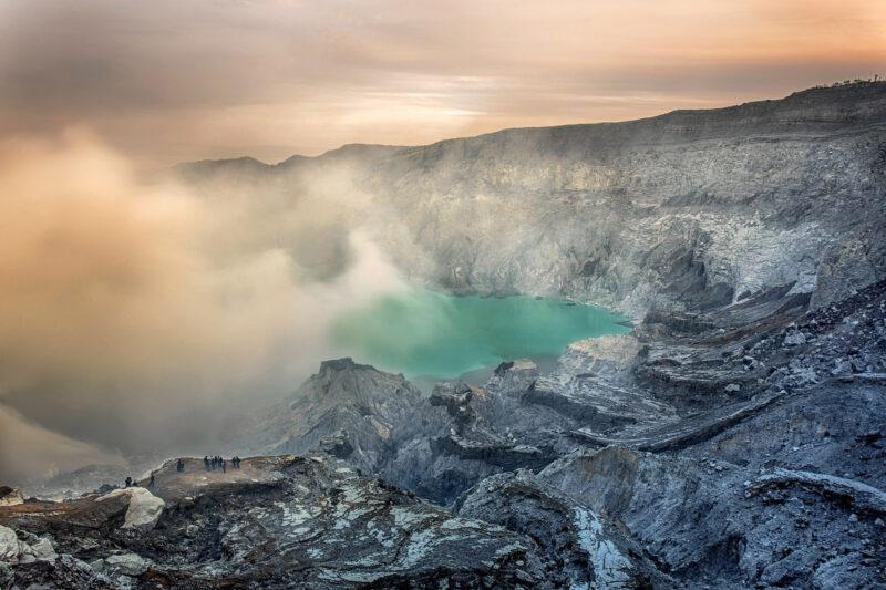 Op mijn wishlist: Kawah Ijen vulkaan