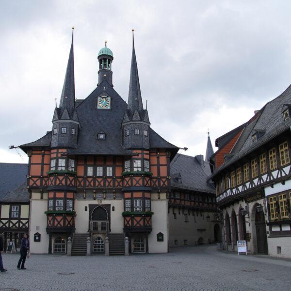Histrische Rathaus - Wernigerode - Duitsland