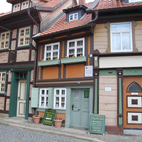 Kleinstes Haus - Wernigerode - Duitsland