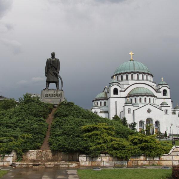 Karađorđe standbeeld - Belgrado - Servië