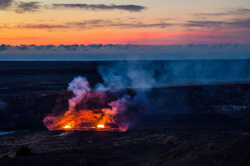 Op mijn wishlist: Hawaii Volcanoes National Park
