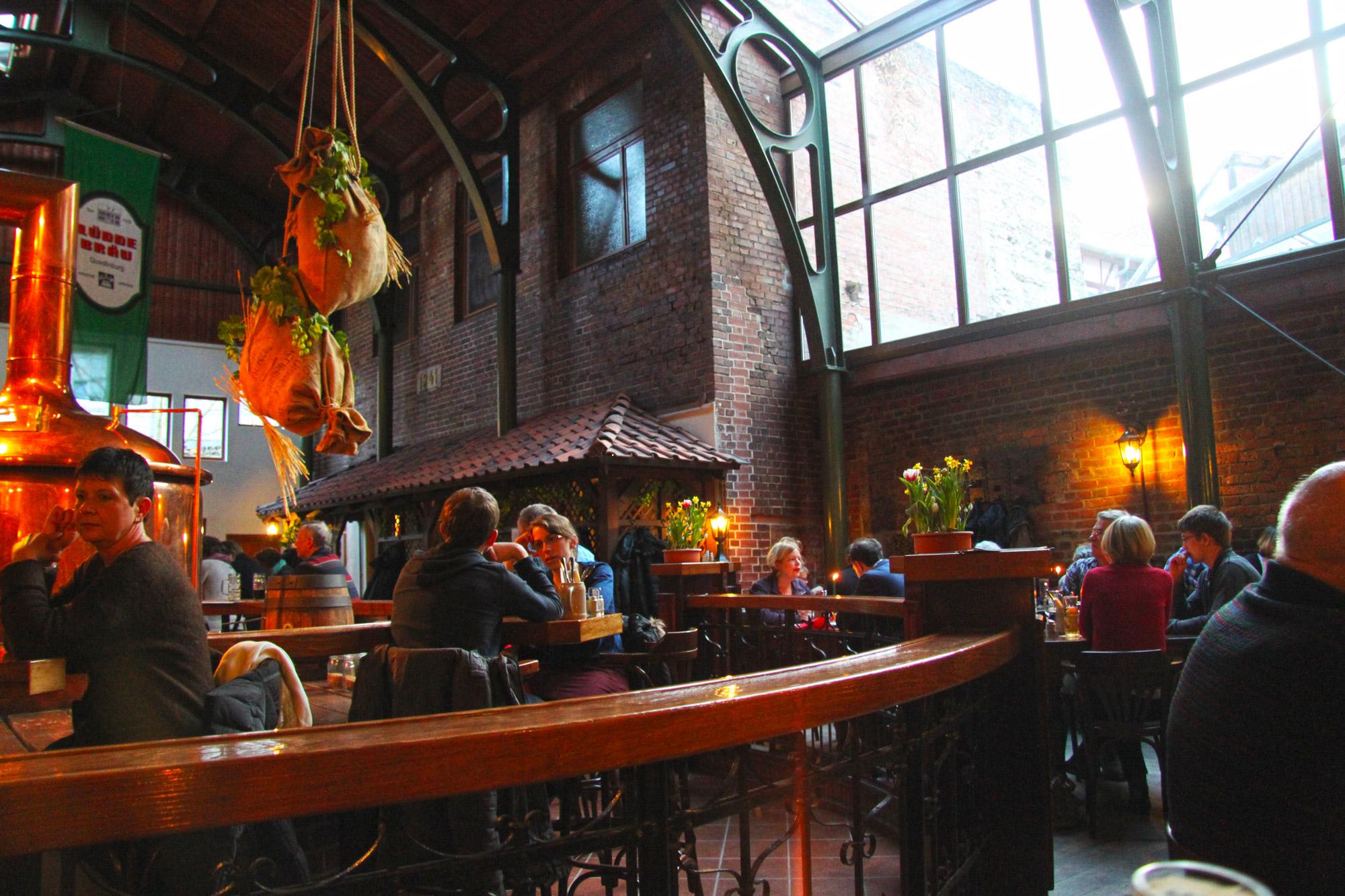 Top 5 must-do's in Quedlinburg - Avondeten in Brauerei Lüdde