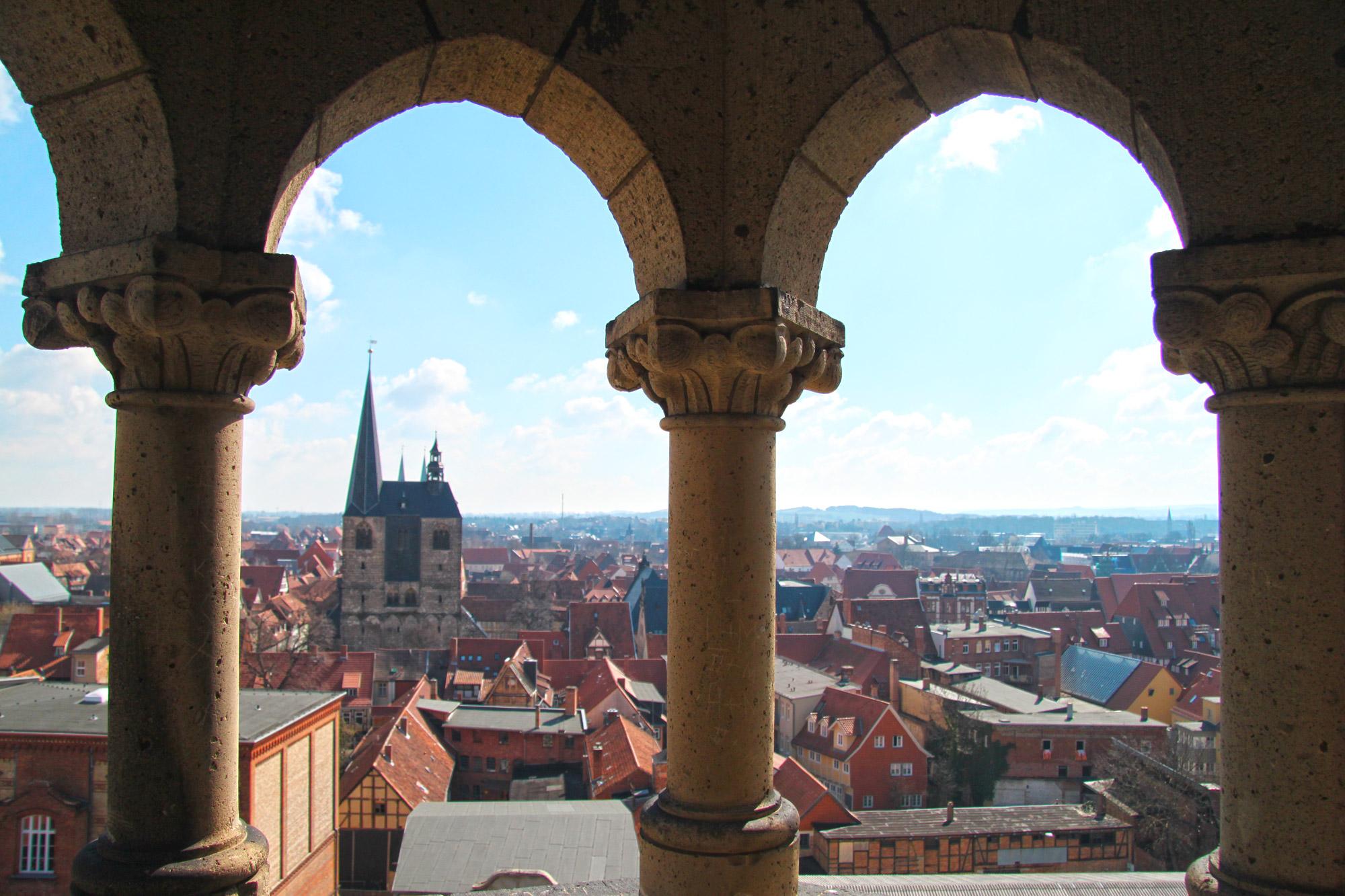 Top 5 must-do's in Quedlinburg - Beklim de toren van Villa Lindenbein