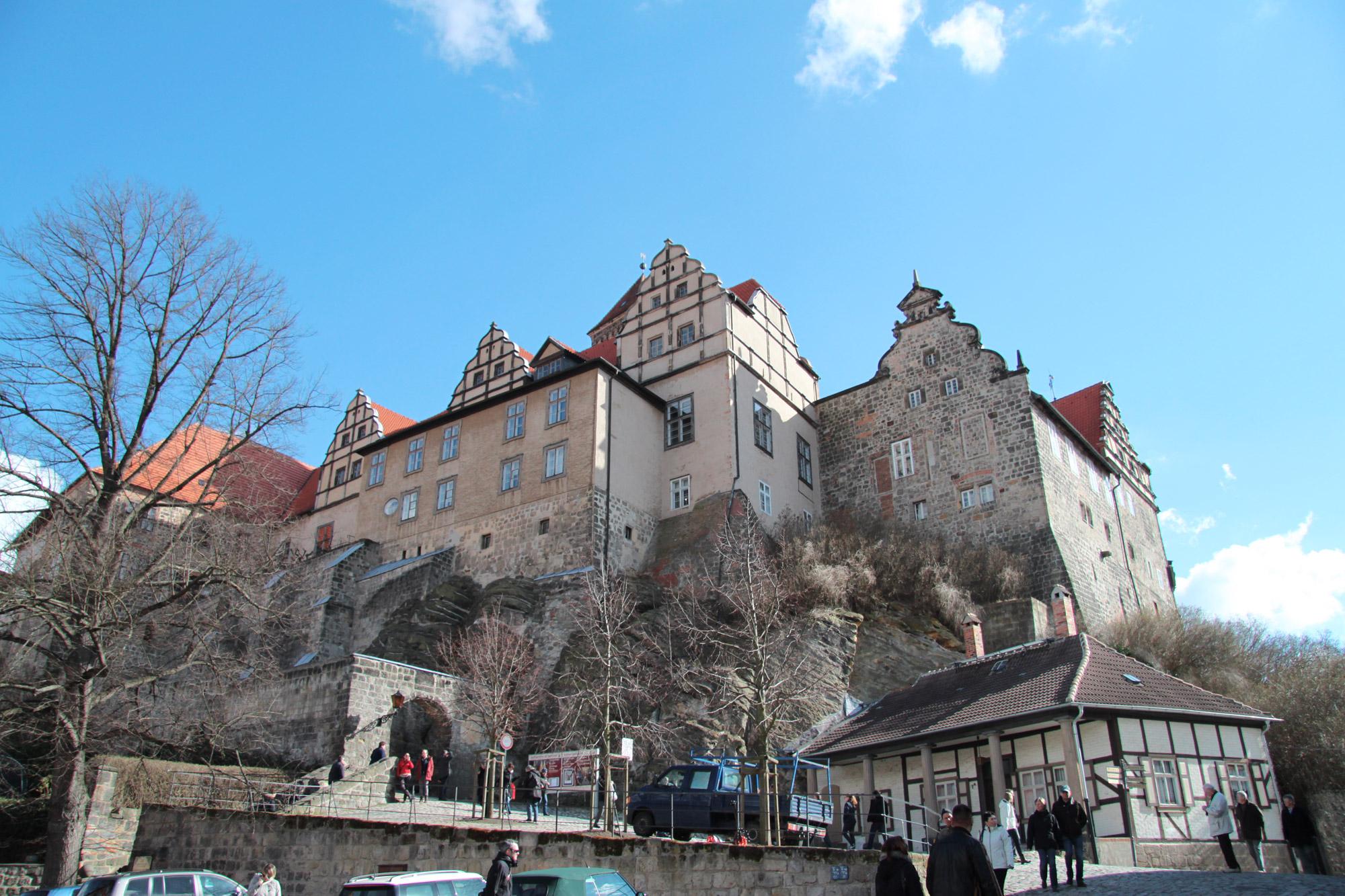 Top 5 must-do's in Quedlinburg - Kijk uit over de stad vanaf de Schlossberg