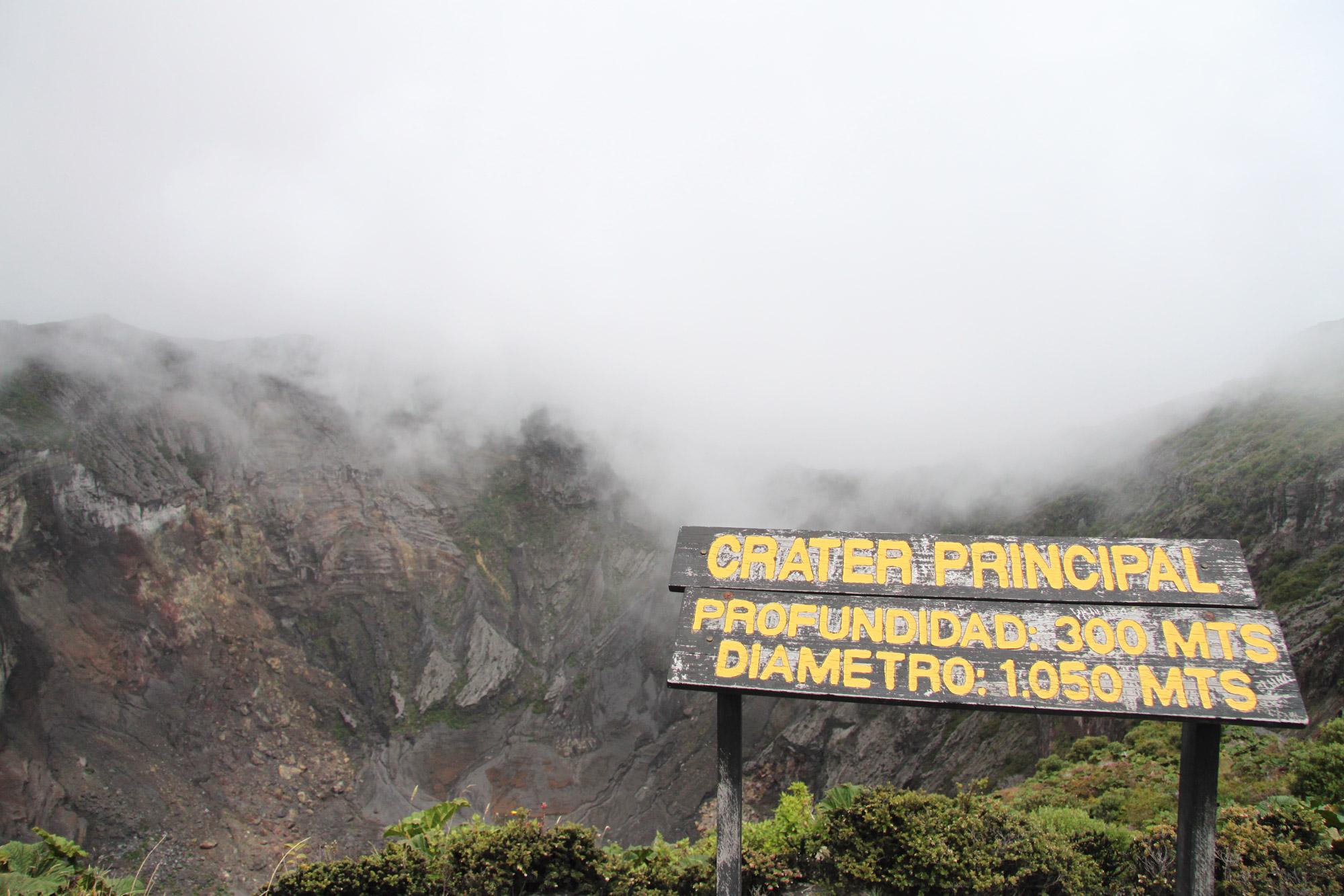 Costa Rica 2014 - dag 2 - Volcán Irazu