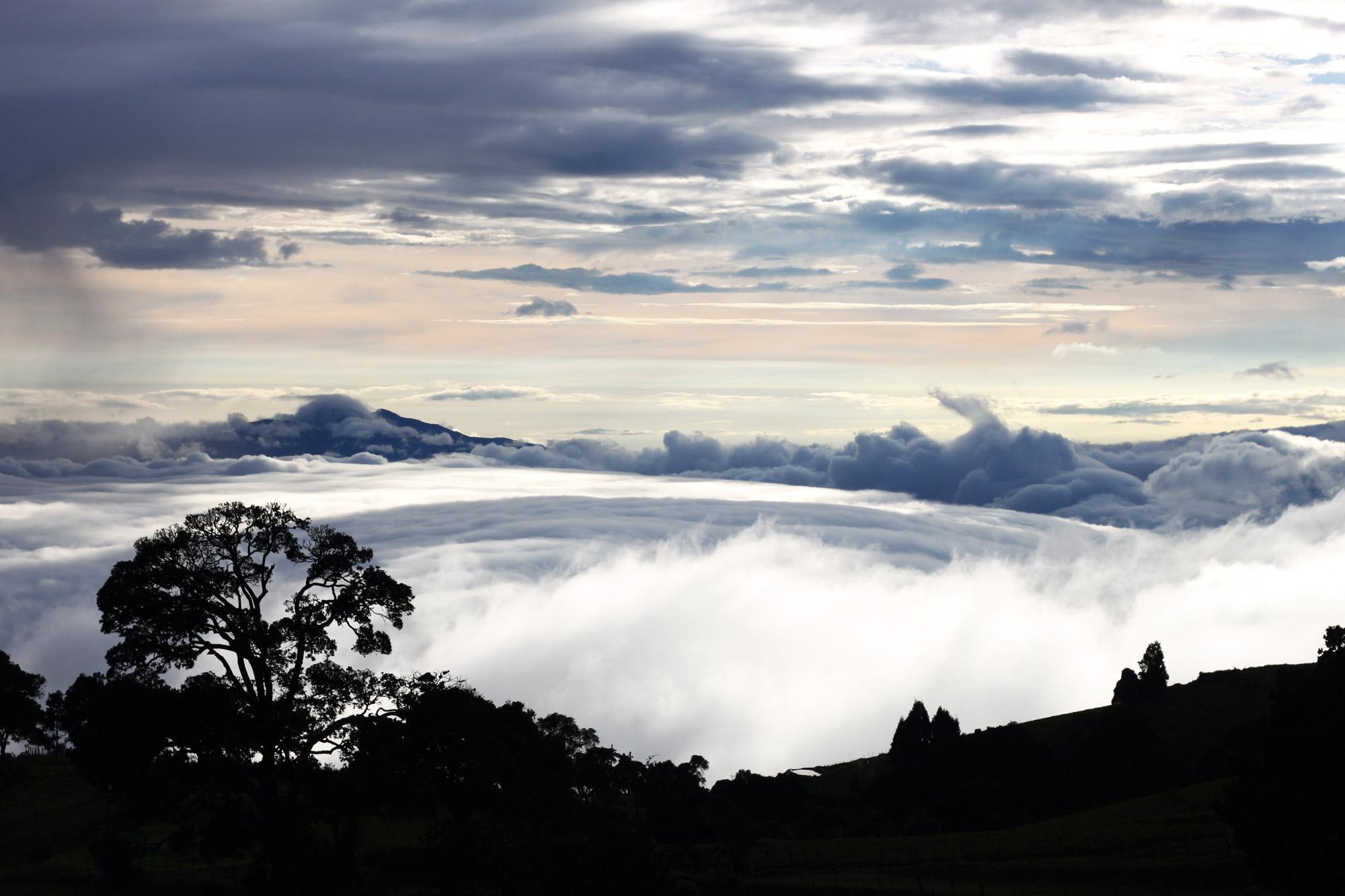Costa Rica 2014 - dag 23 - Prachtige lucht