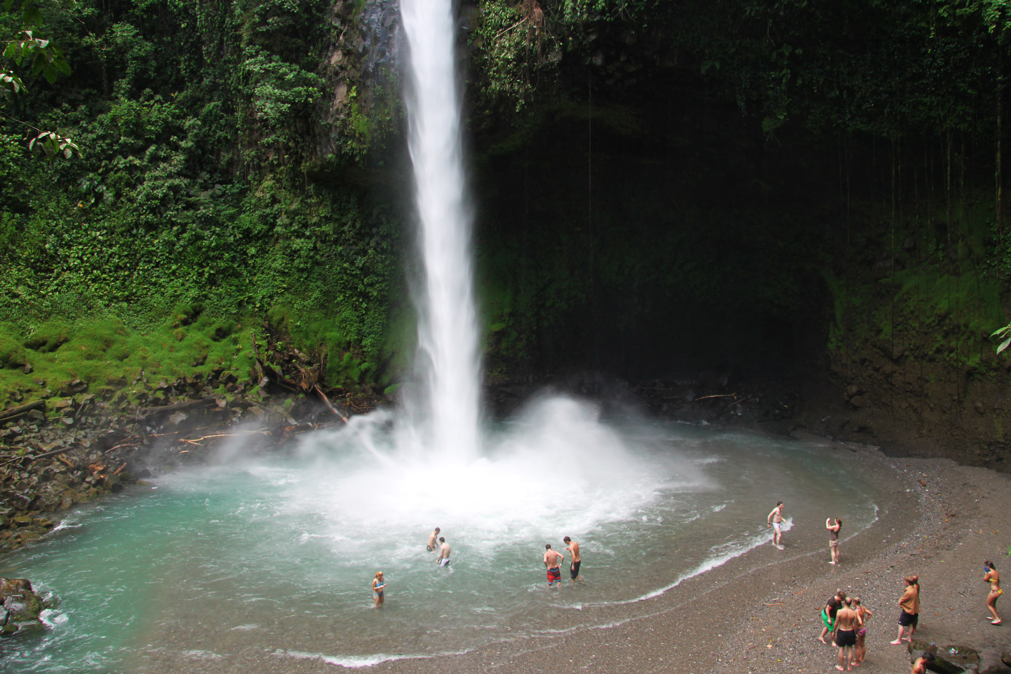 Costa Rica 2014 - dag 8 - La Fortuna Catarata
