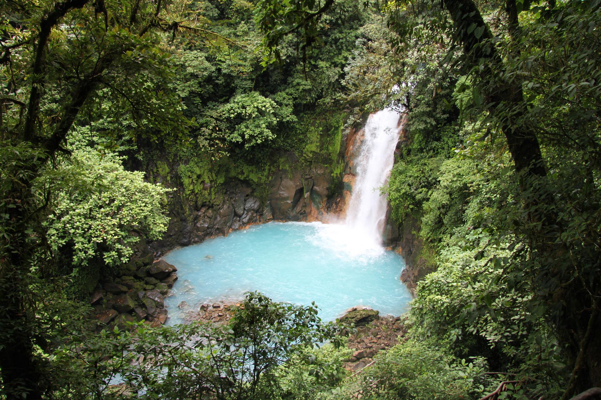 5 reden om naar Costa Rica te reizen - Prachtige natuurparken: Parque Nacional Volcán Tenorio