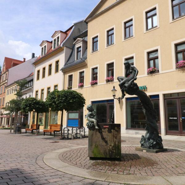 Fortunabrunnen - Freiberg - Duitsland