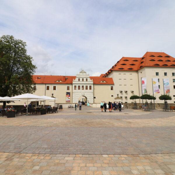 Schlossplatz - Freiberg - Duitsland