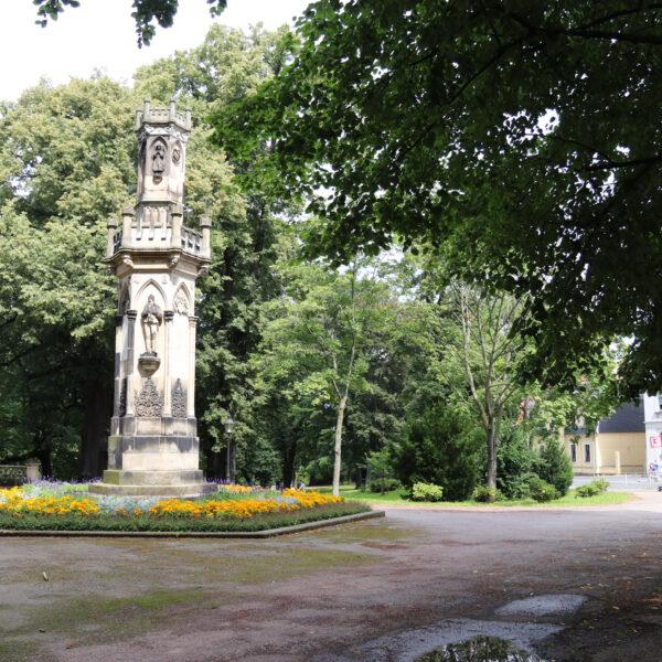 Schwedendenkmal - Freiberg - Duitsland
