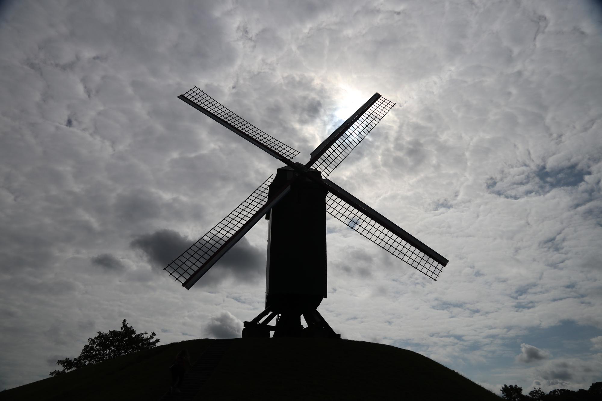 Weekendje Brugge in 10 beelden: De Koeleweimolen
