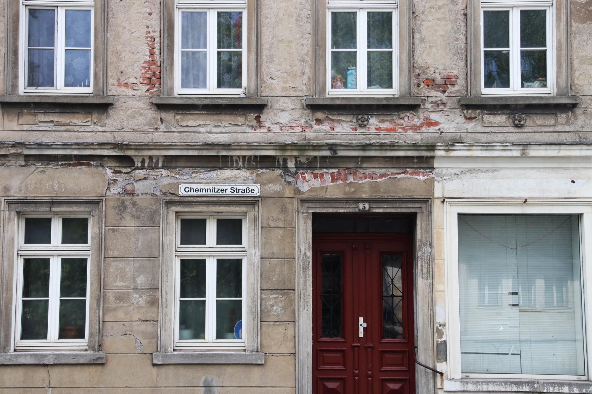 Weekendje Freiberg in 10 beelden - Huizen in DDR stijl