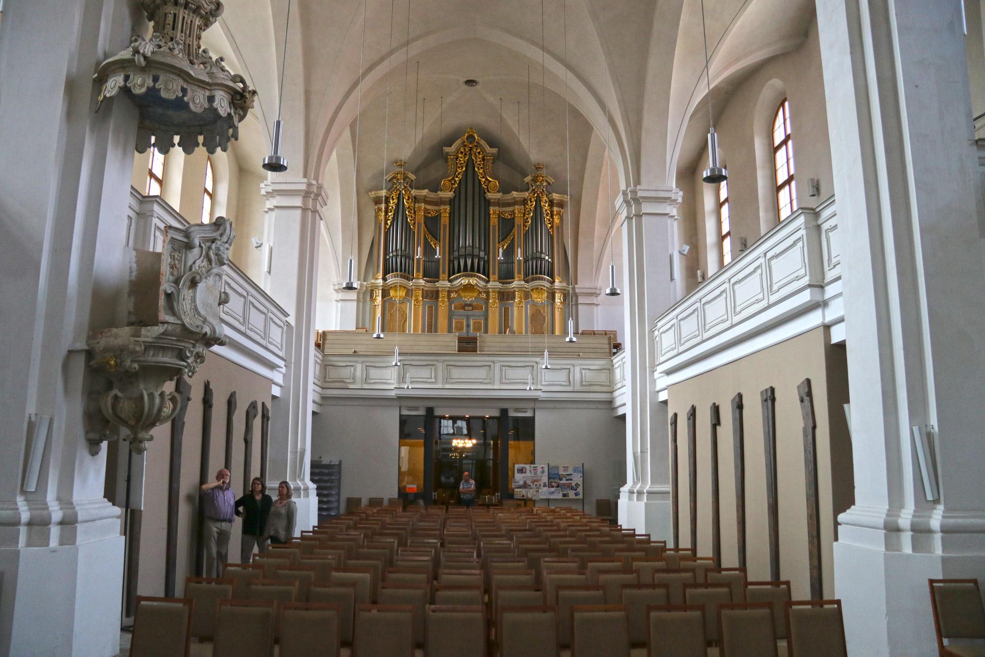 Weekendje Freiberg in 10 beelden - Orgel van Gottfried Silbermann