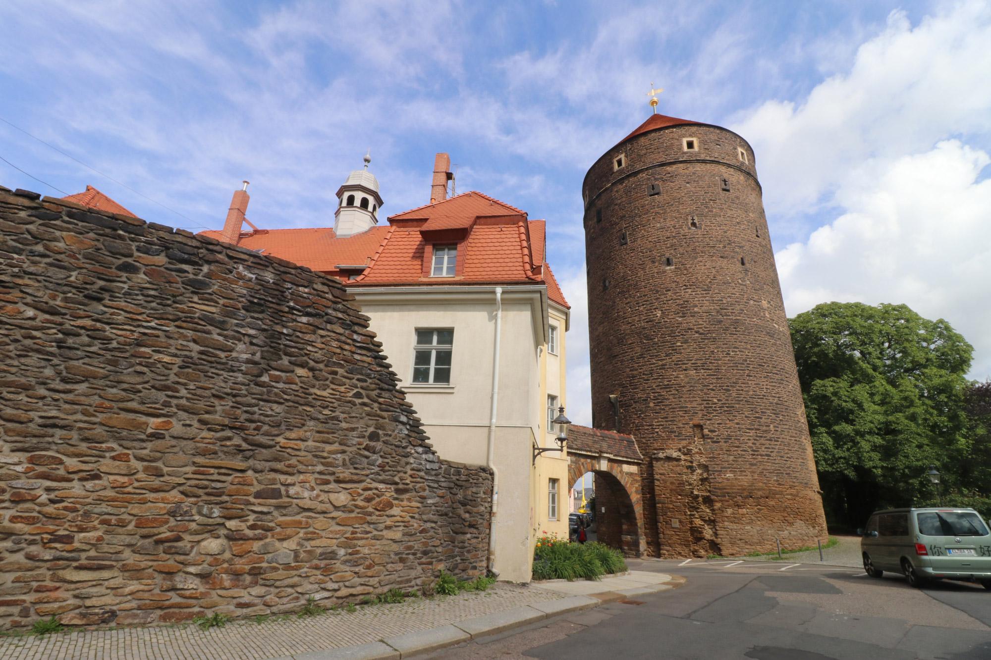 Weekendje Freiberg in 10 beelden - Stadsmuur en torens