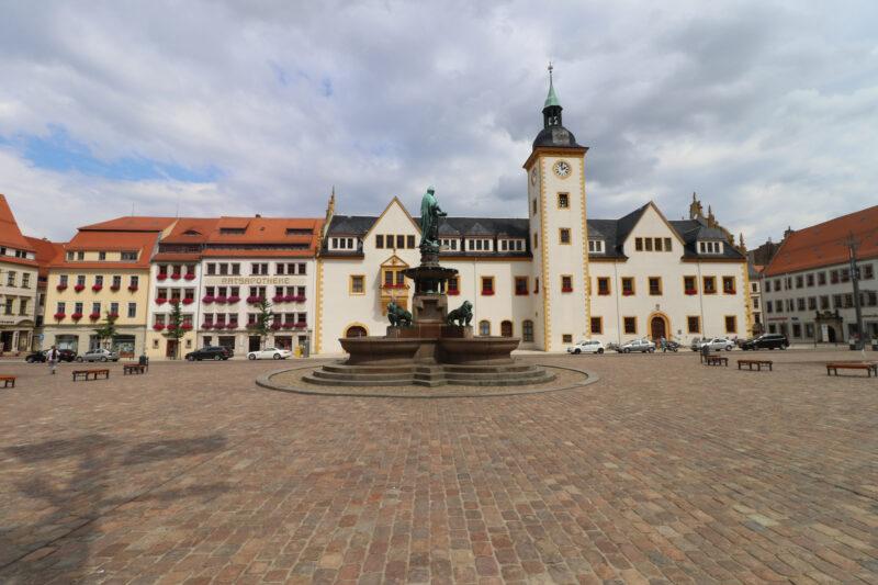 Freiberg ontdekken met oma - Zilverstad Freiberg