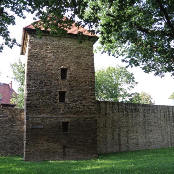 Gelber Löwenturm - Freiberg - Duitsland