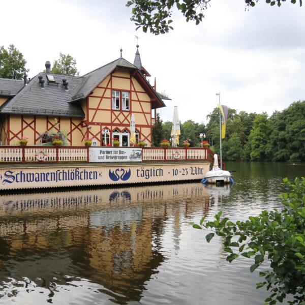 Schwanenschlösschen - Freiberg - Duitsland