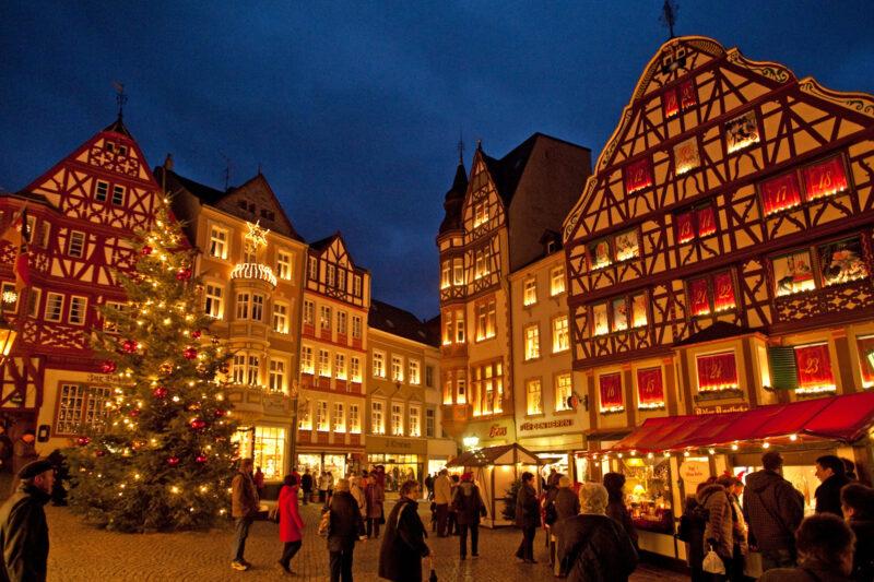 Sprookjesachtige kerstmarkten in de Moezelstreek - Bernkasteler Weihnachtsmarkt