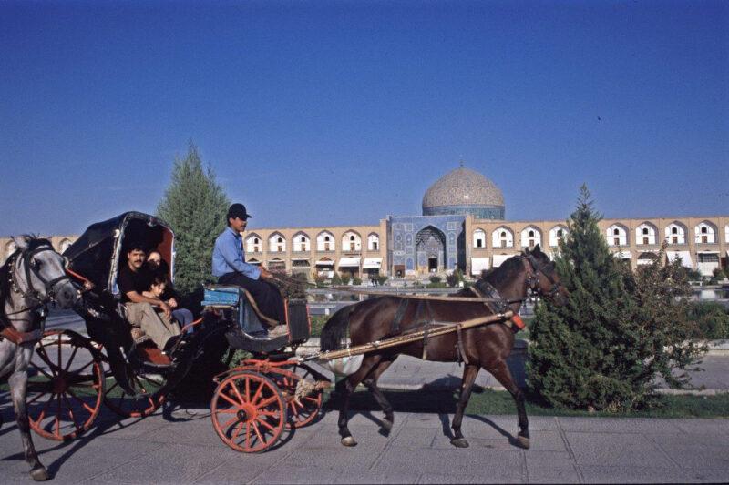 Betoverend Iran - Een ritje met de koets in Isfahan