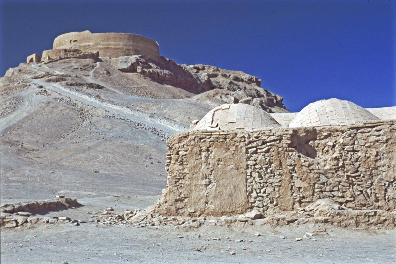 Betoverend Iran - De toren der stilte in Yazd