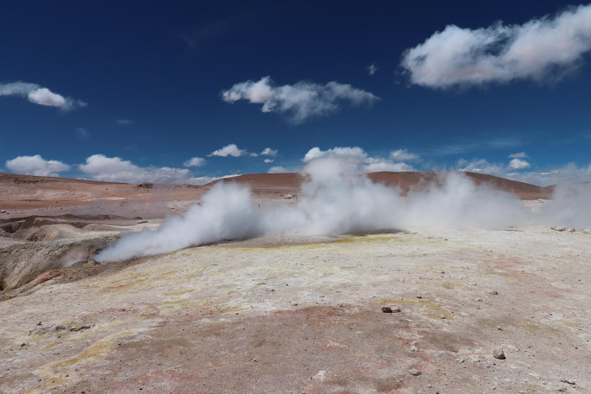 Reisverslag Bolivia: Four Days Of Fantasy Tour - Geisers de Sol de Mañana