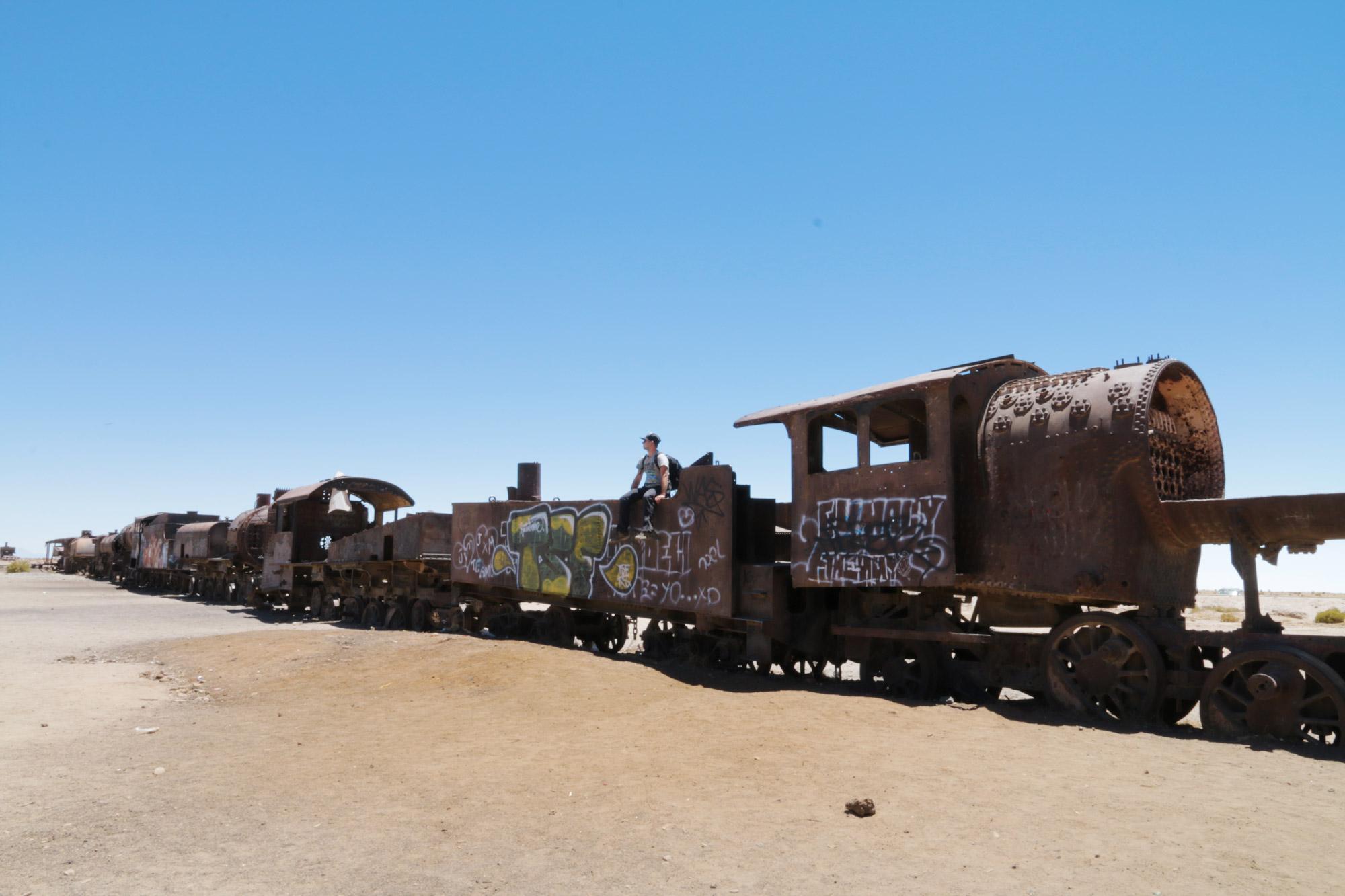 Reisverslag Bolivia: 's wereld grootste zoutvlakte - Cementerio de Trenes