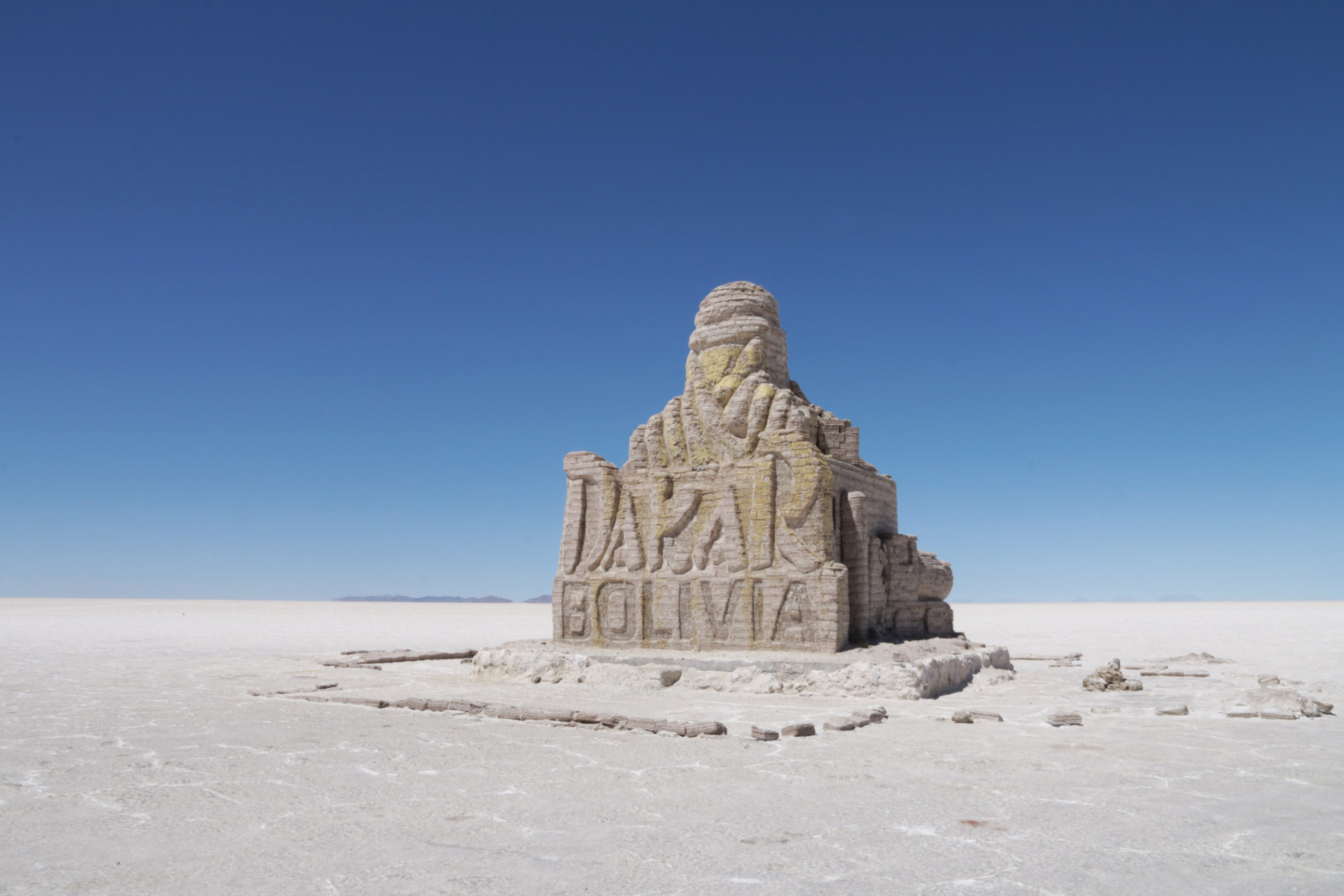 Reisverslag Bolivia: 's wereld grootste zoutvlakte - Dakar Rally monument
