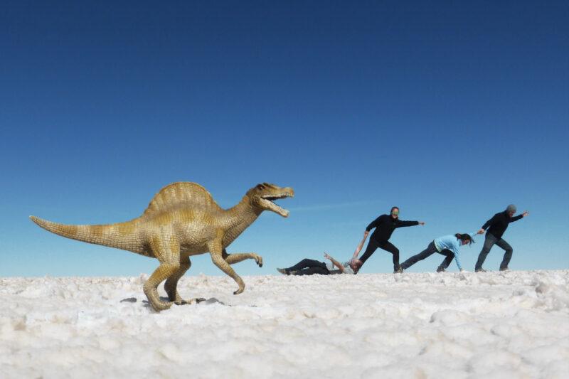 Reisverslag Bolivia: 's wereld grootste zoutvlakte - Gekke foto's maken op de Salar de Uyuni