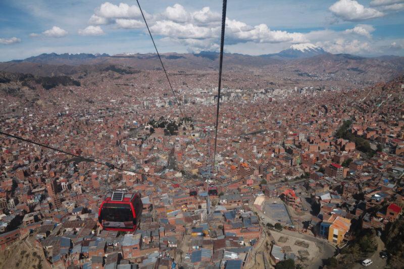 Reisverslaag Bolivia: We survived the Death Road - De rode kabelbaan van La Paz