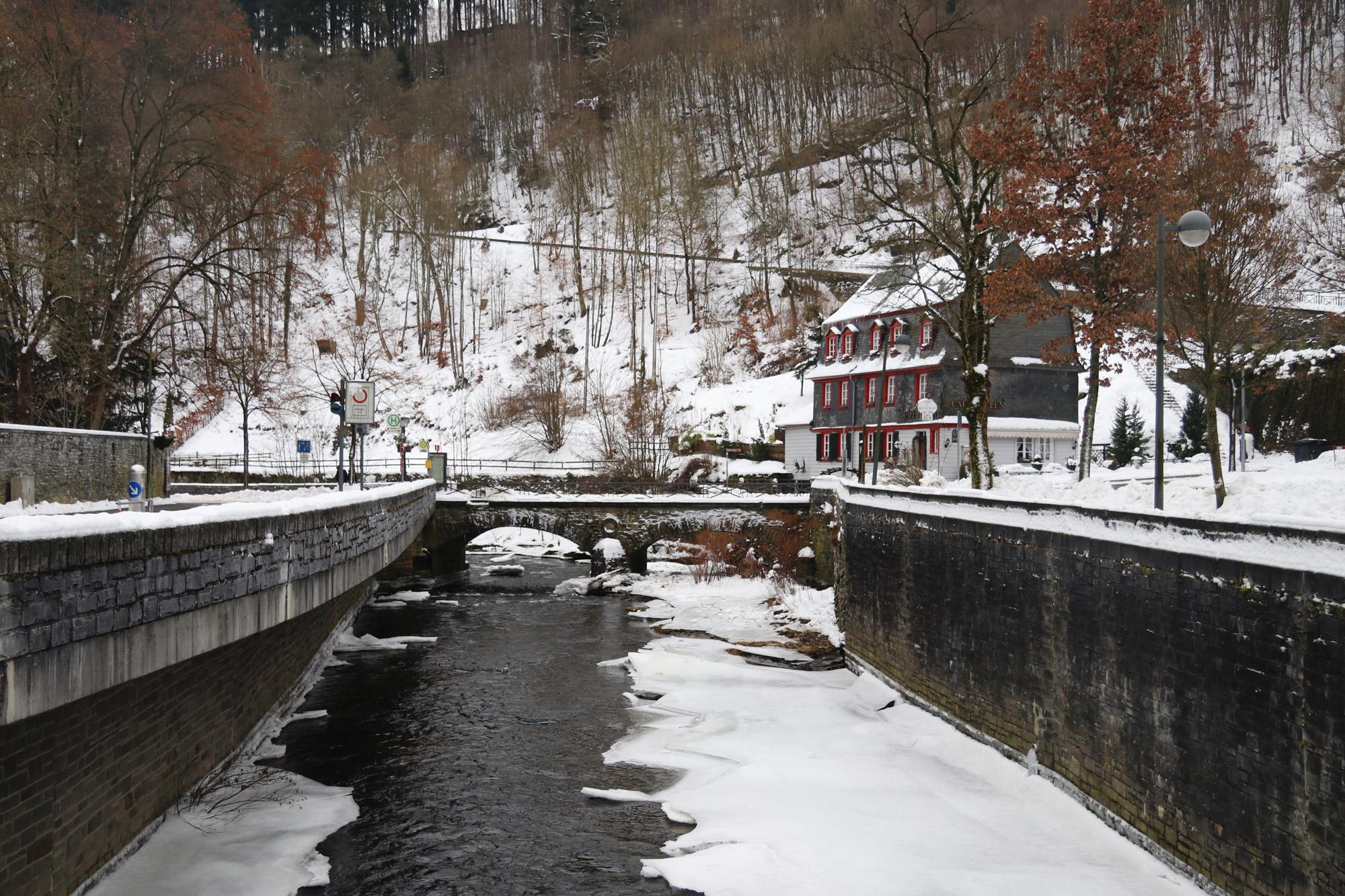 Weekendje in Monschau in 10 beelden - Aankomst in de sneeuw