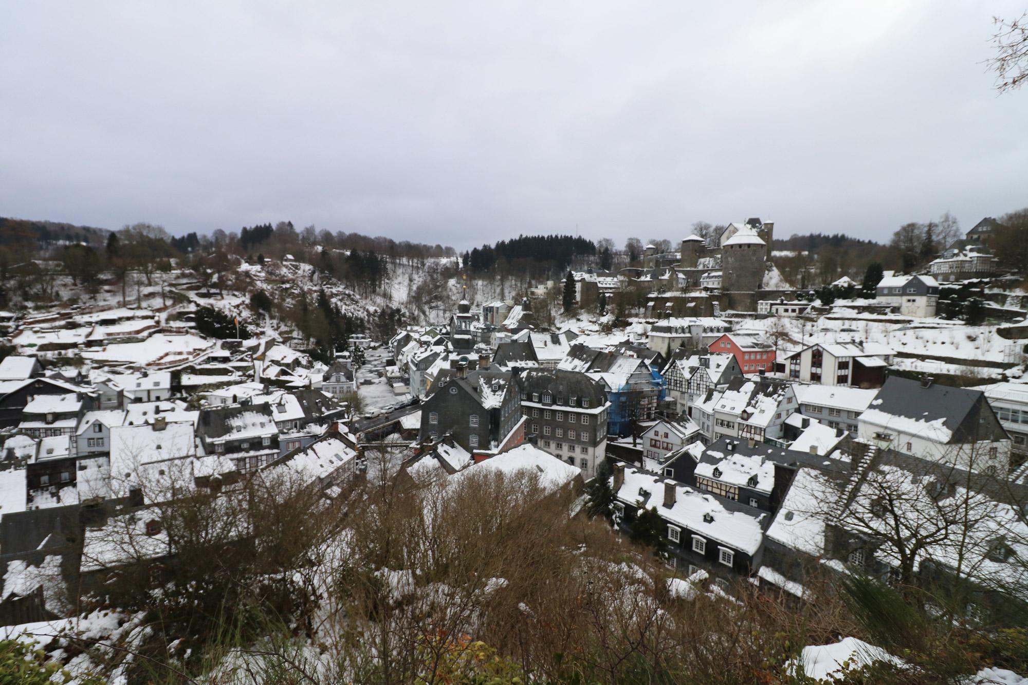 Weekendje in Monschau in 10 beelden - Uitzicht vanaf de Rahmenberg