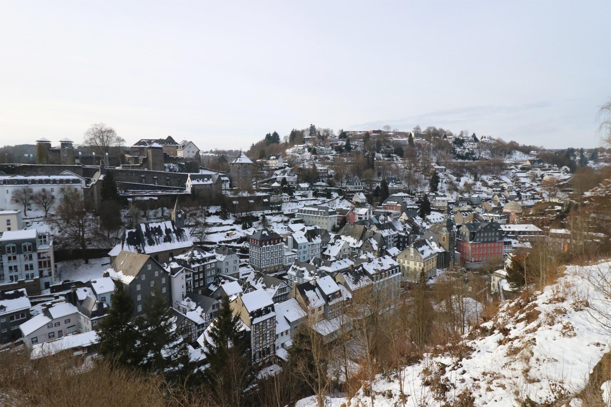Weekendje in Monschau in 10 beelden - Uitzicht vanaf het Stadtpark