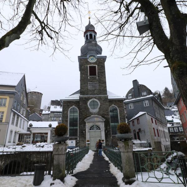 Evangelische Stadtkirche Monschau - Monschau - Duitsland